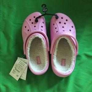 Fuzzy Crocs
